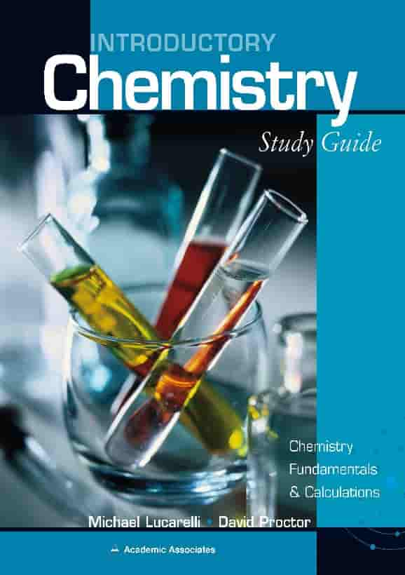 Introductory Chemistry – Study Guide